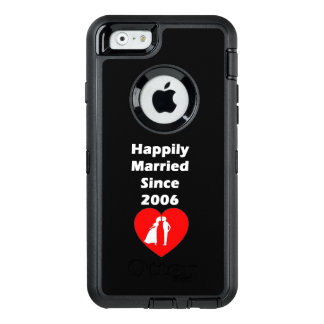 Happily Married Since 2006 OtterBox Defender iPhone Case