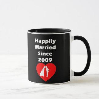 Happily Married Since 2009 Mug