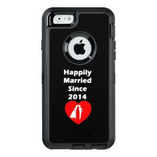 Happily Married Since 2014 OtterBox iPhone 6/6s Case