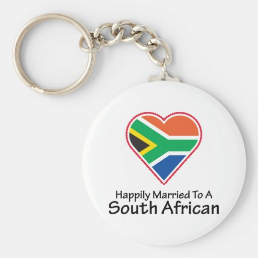 Happily Married South African Keychains