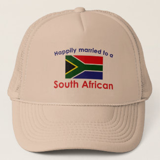 Happily Married South African Trucker Hat
