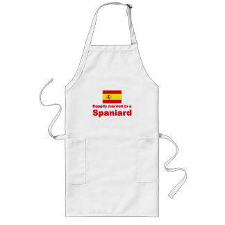 Happily Married Spaniard Long Apron