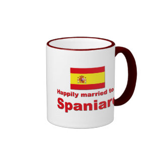 Happily Married Spaniard Coffee Mug