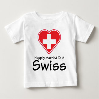 Happily Married Swiss T Shirt