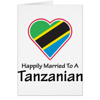 Happily Married Tanzanian Card