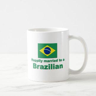 Happily Married to a Brazilian Mugs