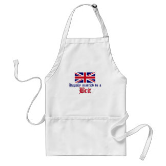 Happily Married To A Brit Apron
