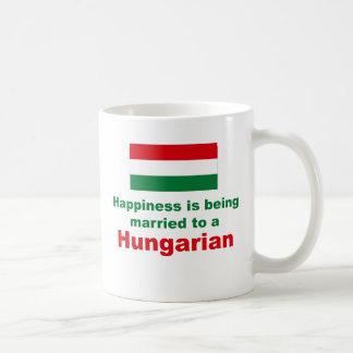 Happily Married To A Hungarian Coffee Mug