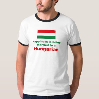 Happily Married To A Hungarian T-Shirt
