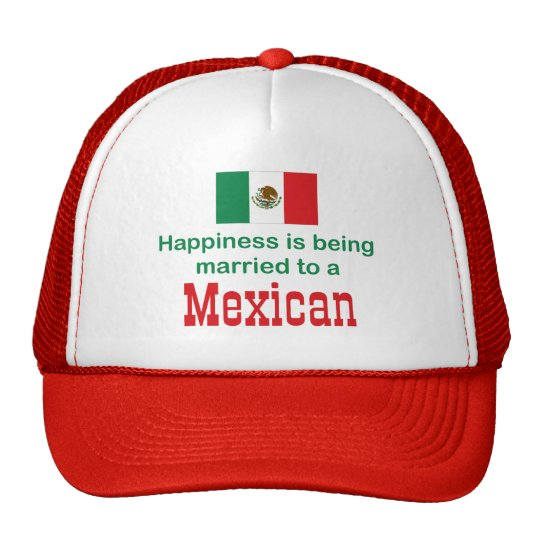 Happily Married To A Mexican Trucker Hat