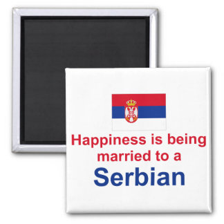 Happily Married To A Serbian Magnet