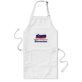 Happily Married To A Slovenian Long Apron