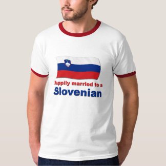 Happily Married To A Slovenian T-Shirt