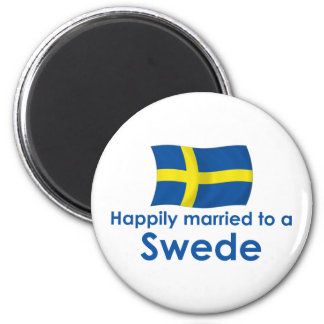 Happily Married to a Swede Magnet