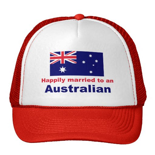 Happily Married To An Australian Hat