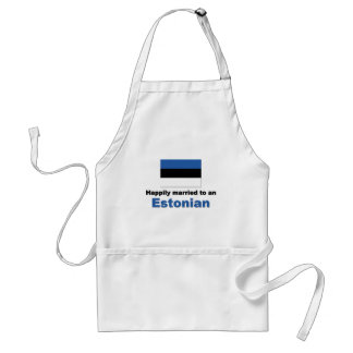 Happily Married to an Estonian Adult Apron