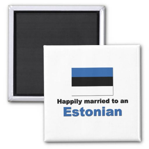 Happily Married to an Estonian Fridge Magnet