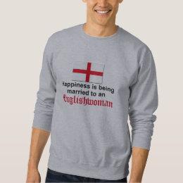 Happily Married to Englishwoman Sweatshirt