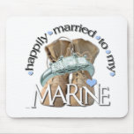 happily married to my Marine Mouse Pad