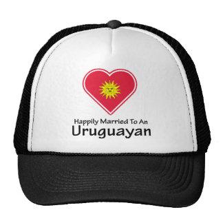 Happily Married Uruguayan Trucker Hats