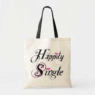 Happily Single Tote Bag