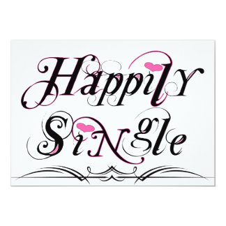 Happily Single Card