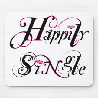 Happily Single Mouse Pad