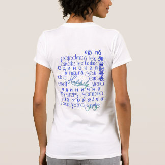 Happily Single Spoken 'Round the World/Skies The L Tees