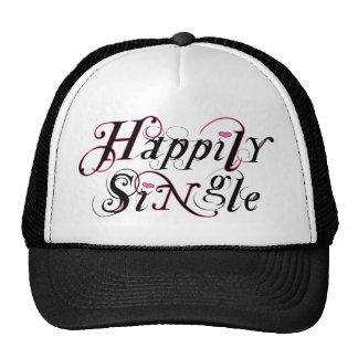 Happily SiNgle Trucker Hat