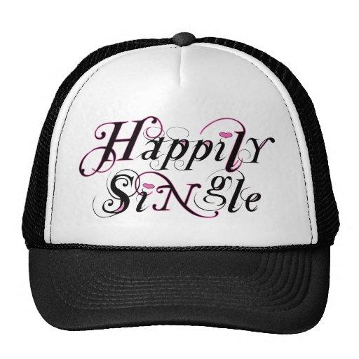 Happily SiNgle Trucker Hat