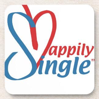 HappilySingle™ Beverage Coaster