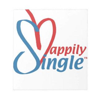 HappilySingle™ Notepad