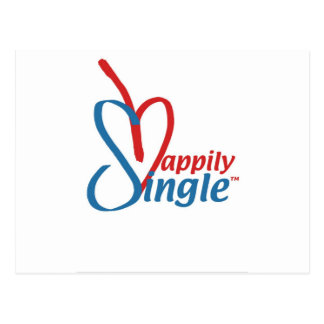 HappilySingle™ Postcard