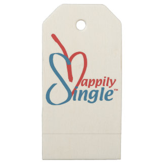 HappilySingle™ Wooden Gift Tags