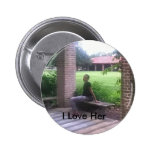Happiness 2 Inch Round Button