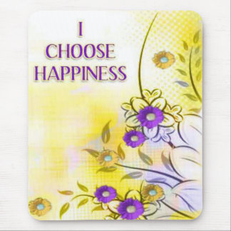 Happiness-Affirmations-motivating mousepads