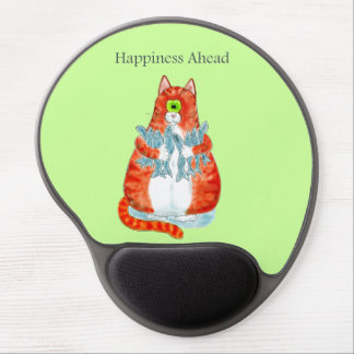 Happiness Ahead Gel Mouse Mats