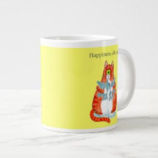 Happiness Ahead Large Coffee Mug