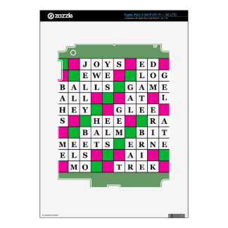 Happiness and Luck Crossword Skins For iPad 3