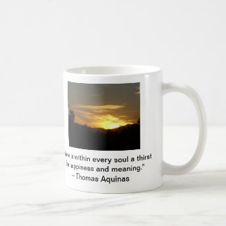 Happiness and Meaning Coffee Mug