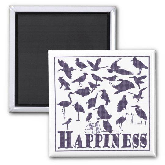 Happiness: Birds Magnet