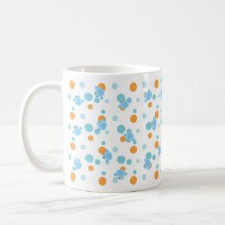 Happiness Bluebird Scatter mug