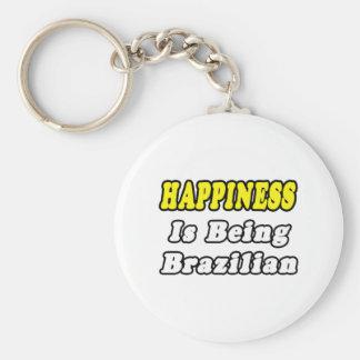 Happiness...Brazilian Keychain