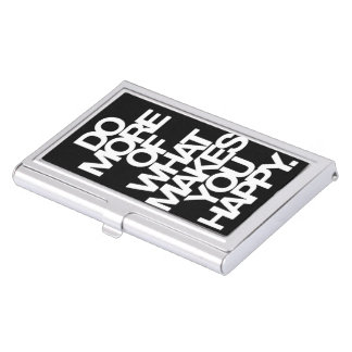 Happiness Business Card Case