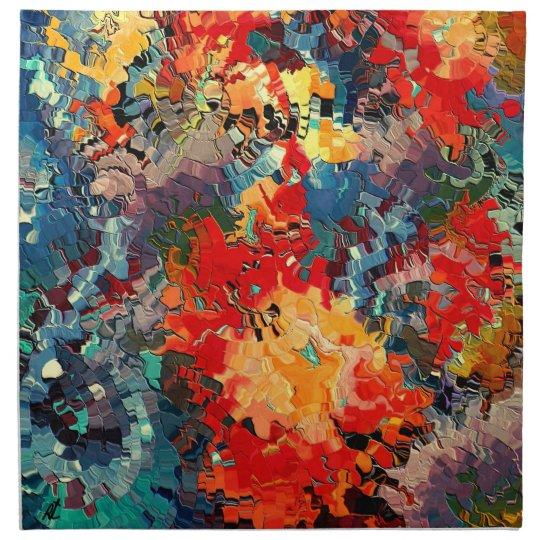 Happiness by rafi talby cloth napkin
