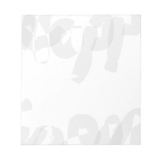 Happiness Calligraphy Art Notepad