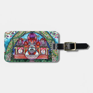 Happiness castle bag tag