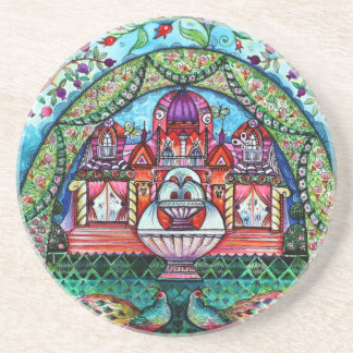 Happiness castle coaster