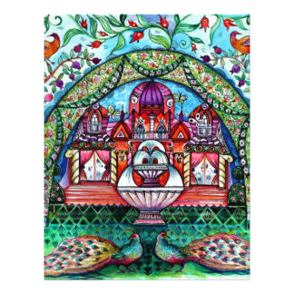 Happiness castle letterhead