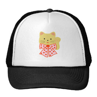 Happiness cat mesh hats